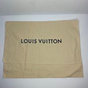 LOUIS VUITTON DUST BAG AUTHENTIC MEDIUM 18.5x13.5